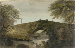 [The bridge at Ivy Bridge in Devon]